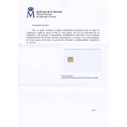 Tarjeta criptográfica TC-FNMT Blanca